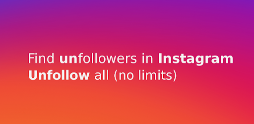 Unfollowers for Instagram app (apk) free download for Android/PC/Windows screenshot