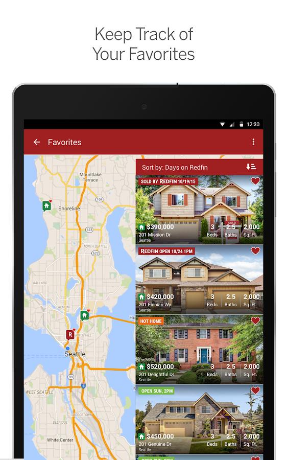Redfin Real Estate- screenshot