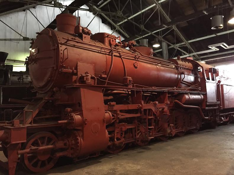 リュブリャナ 鉄道博物館 蒸気機関車