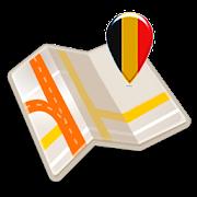 Map of Belgium offline