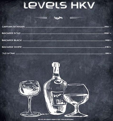 Menu 10 - Levels HKV, Hauz Khas Village, New Delhi
