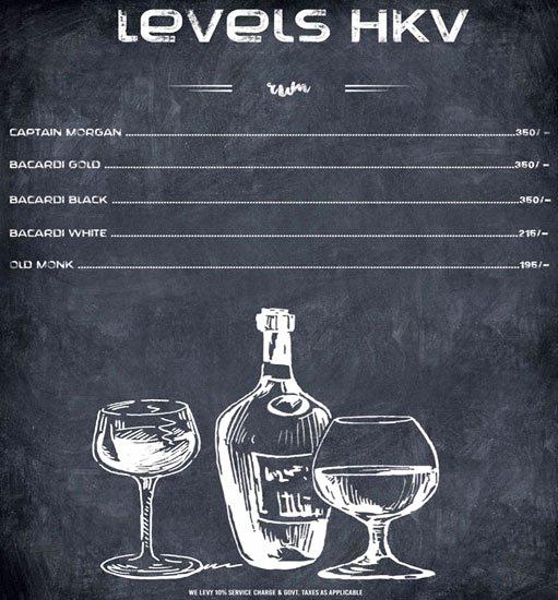 Levels HKV menu 10