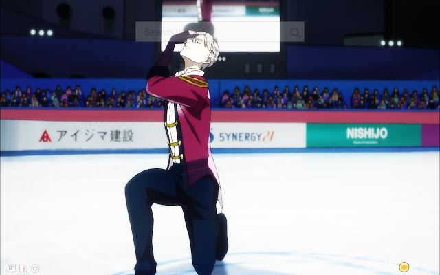 Yuri on Ice HD NewTab Wallpapers
