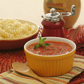 Roasted Red Pepper Tomato Sauce.