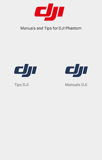 Manuals and Tips for DJI
