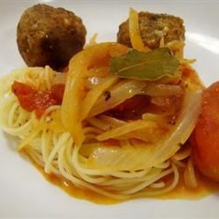 RO's Spaghetti and Meatballs