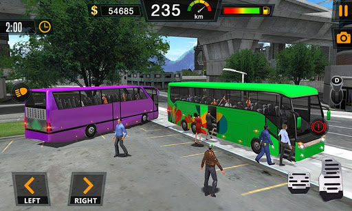 Auto Bus Driving 2019 - City Coach Simulator 1.0.4 Screenshots 1