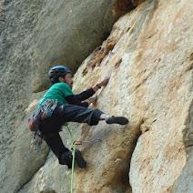 Fotos de escalada deportiva en Turón, Málaga(Andalucía).