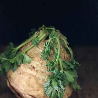 Celery Root Chicken & Mushroom Alfredo