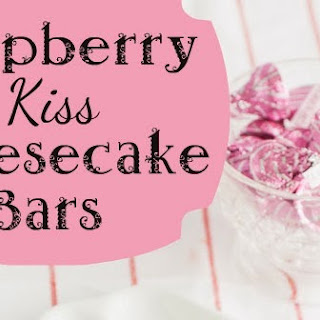 Raspberry Kiss Cheesecake Bars