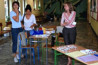 Photo: Obsługa turnieju - Hanna Trzeciakiewicz, Justyna Kozłowska i Joanna Bladoszewska