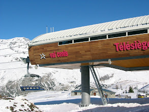 Photo: Les remontées mécaniques de Val Cenis