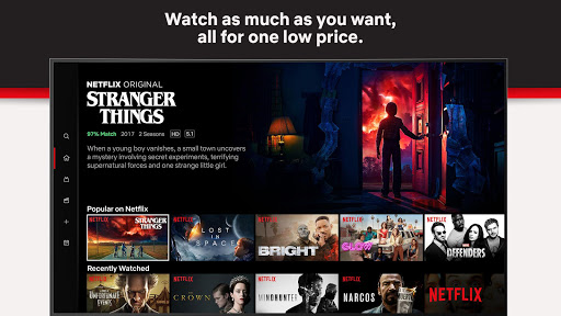 Netflixu00a0 4.2.1 build 1804 screenshots 1