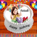 Photo On Cake 2020 : Birthday Cake Pics Editor icon