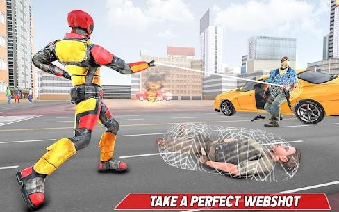 Bodyguard Robot Rope hero – Robot Crime Simulator 1.9 Latest MOD APK 3