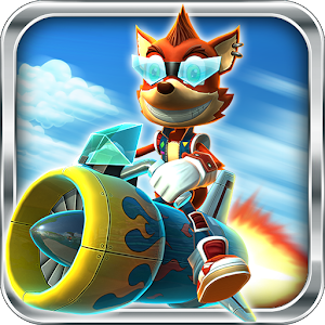 Rocket Racer icon do jogo