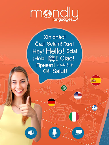 Learn 33 Languages Free - Mondly 7.8.0 Screenshots 9