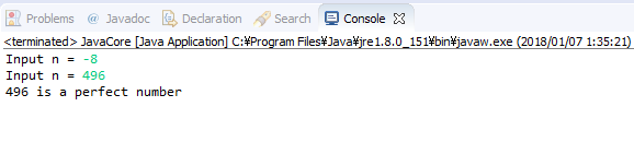 Java - Số hoàn hảo