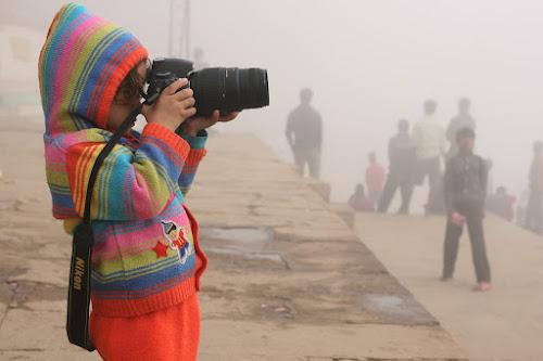 3 years old..... photographer ! by Santosh Pandey - Babies & Children Child Portraits