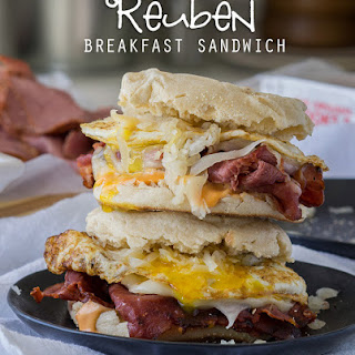 Reuben Breakfast Sandwich.