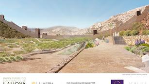 Vista general del futuro parque de La Hoya