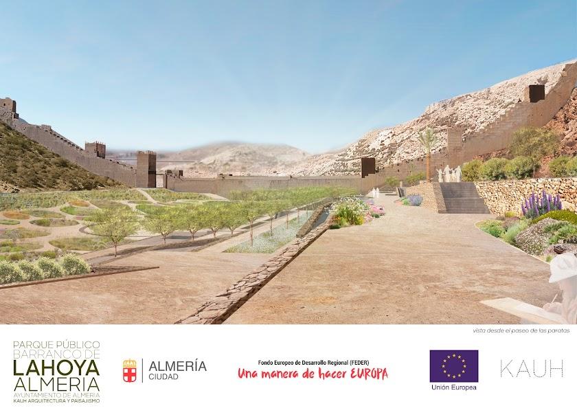 Así serán los Jardines Mediterráneos de La Hoya