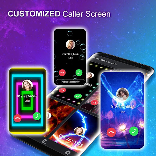 Color Phone - Call Screen Flash Themes 1.7.4 gameplay | AndroidFC 2