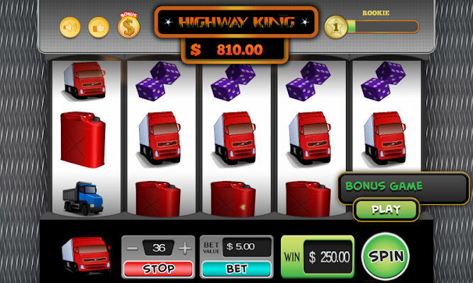 Highway King Slots - screenshot