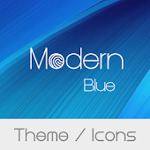 Modern Blue Theme + Icons