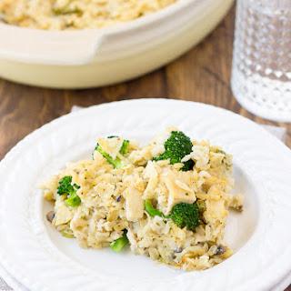 Dairy-Free Chicken Broccoli & Rice Casserole {Gluten-Free}