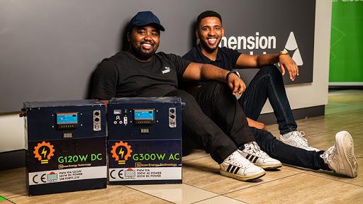 Kwanda Jakalas and Randolph Meth, Silicon Energy.