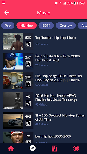 Music Streamer for YouTube 1.0 screenshots 3