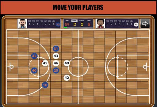 Télécharger Gratuit Basketball Chess Manager Online  5 apk mod screenshots 1