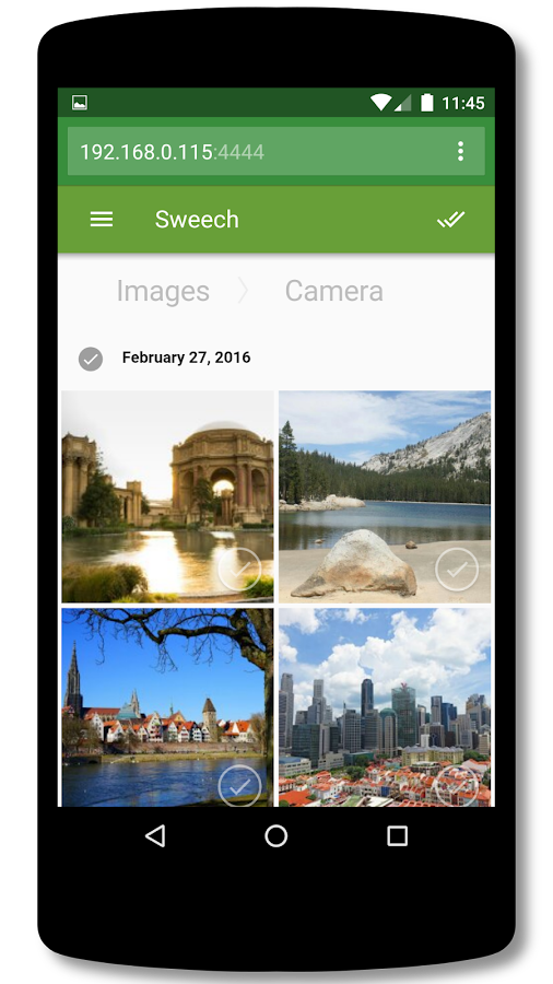 Sweech - Wifi File Transfer- screenshot