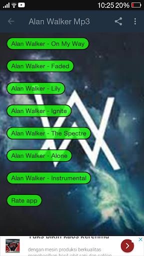 Alan Walker Mp3 - Revenue & Download estimates - Google Play