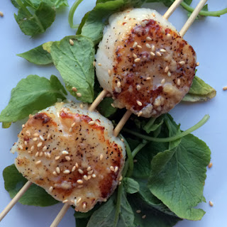 Sear Scallops With Miso Butter