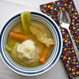 Perfect Vegan Matzo Ball Soup