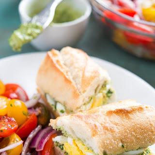 Pesto Eggs Sandwich Recipes