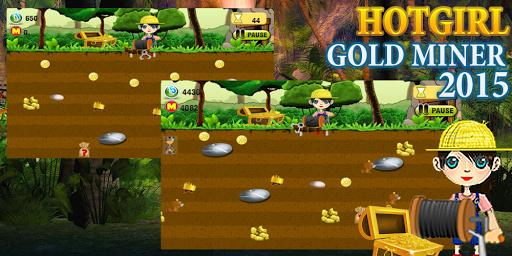 Gold miner version hot girl