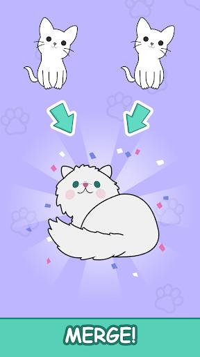 Cats Tower - Merge Kittens 2 2.18 screenshots 3