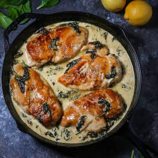 Spinach Sauce Chicken Breasts Recipes.