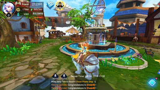 Throne of Elves: 3D Anime Action MMORPG 2.18.5 screenshots 8