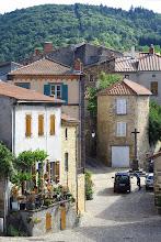 Photo: Auzon, France - street scene