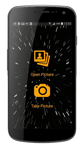 Lightsaber Photo Montage App