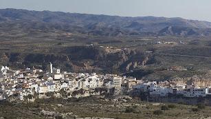 El proyecto se pretende desarrollar en el paraje La Maleguica, situado junto el núcleo urbano de Sorbas.