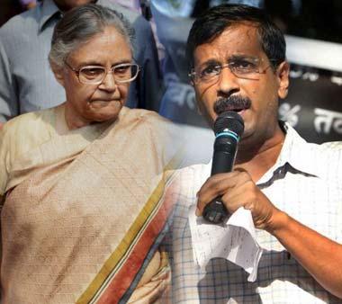 Sheila Dikshit Vs Arvind Kejriwal