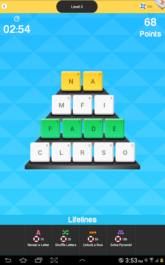 Word Pyramids - Word Puzzles- screenshot