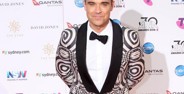 Robbie Williams lends support to Ant McPartlin