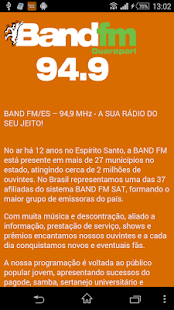 BAND FM - GUARAPARI- screenshot thumbnail