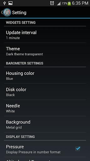 Barometer Plus 4.0.2 screenshots 3